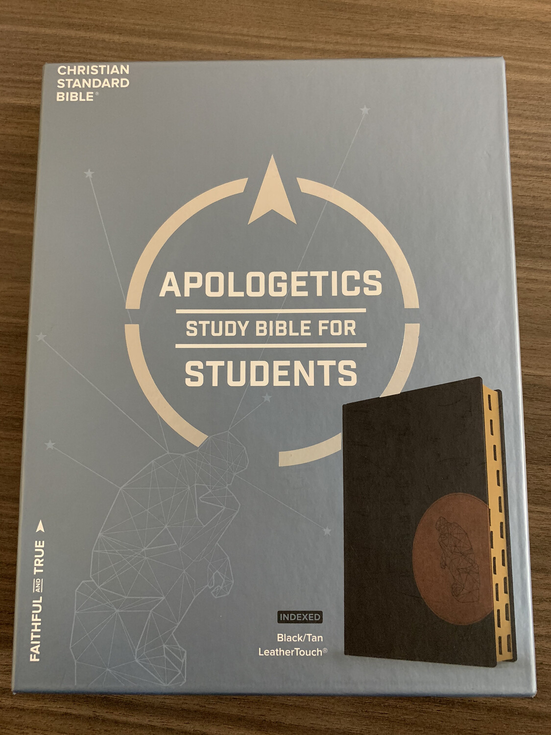 CSB, Apologetics Study Bible For Students Black\ Tan