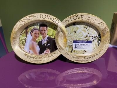 Frame Desktop Double Wedding Rings
