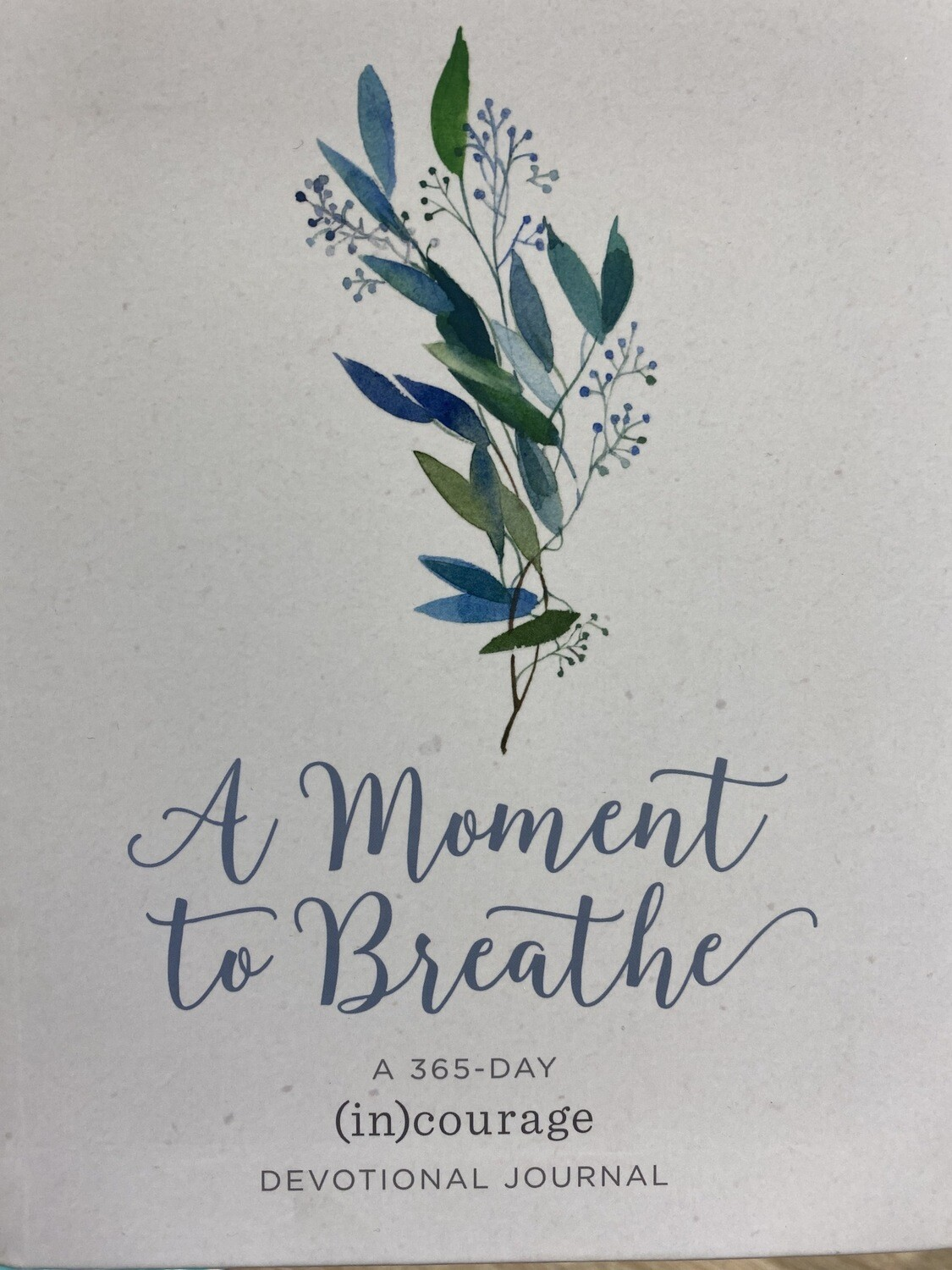 DAYSPRING, A Moment To Breathe, Devotional Journal