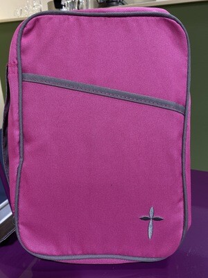 Cross Pink Canvas, Large