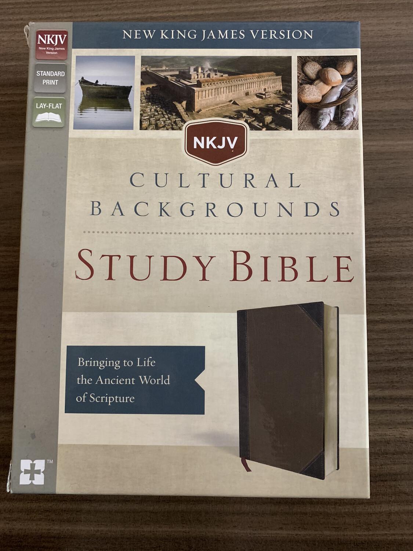 NKJV Cultural Backgrounds Study Bible Brown