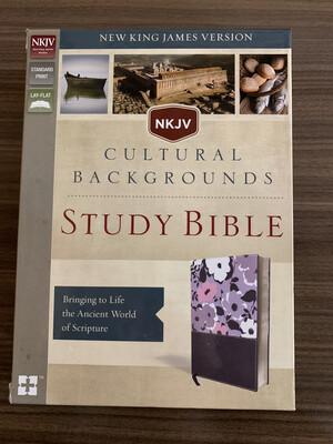 NKJV Cultural Study Bible Purple