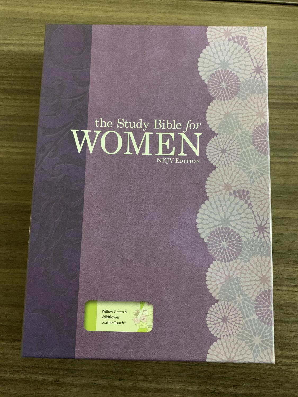 NKJV, Study Bible For Women, Gr Wildflower Leathertouch