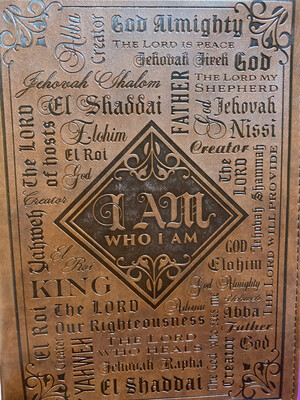 Large, Bible Cover, Names Of God