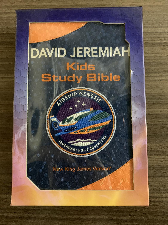 NKJV Airship David Jeremiah Kids Study Bible