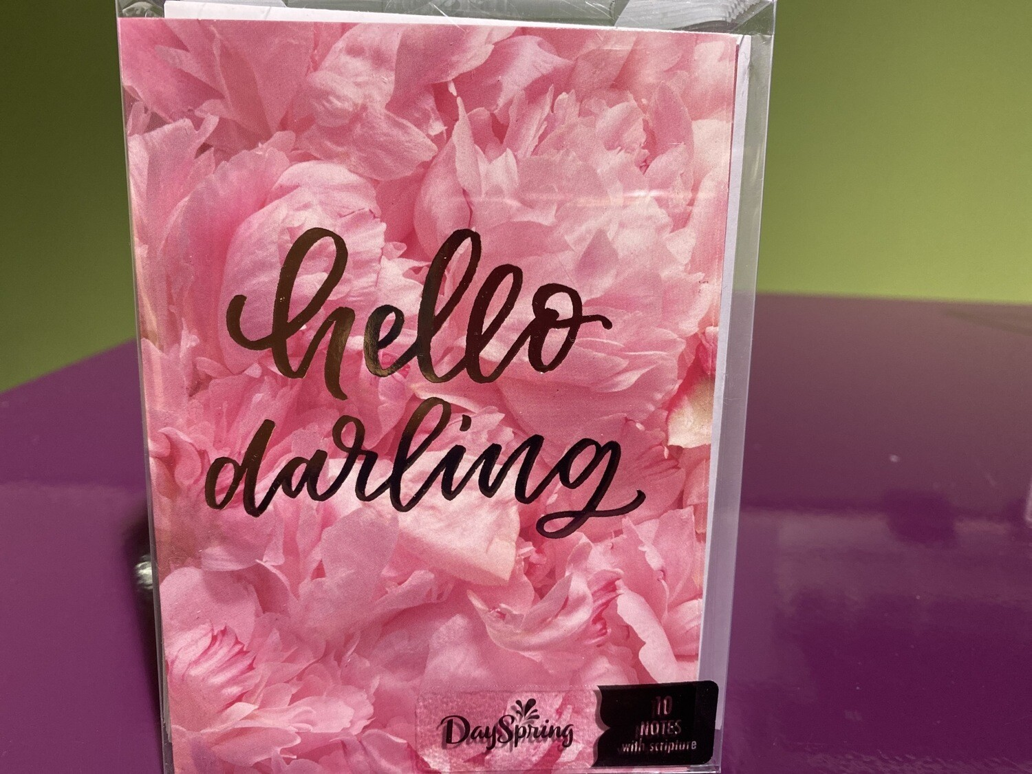 DAYSPRING, Hello Darling Notecard