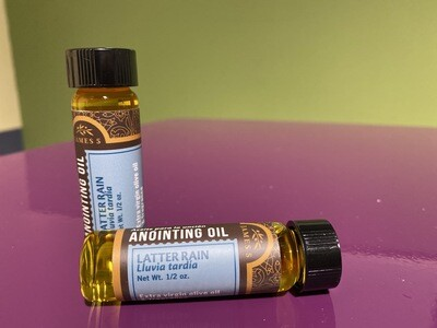 Anointing Oil - Latter Rain