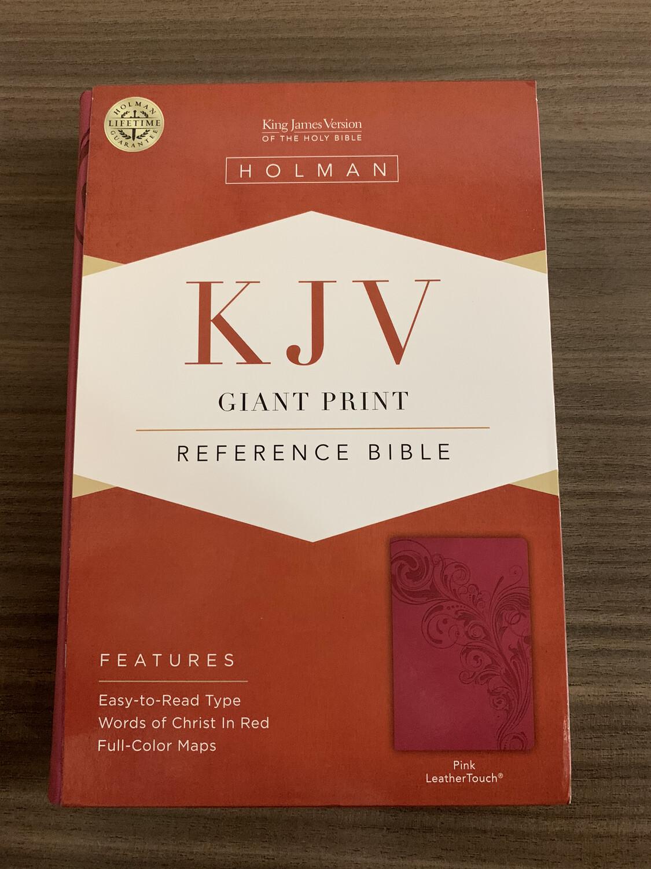 KJV, Giant Print Pink Leathertouch
