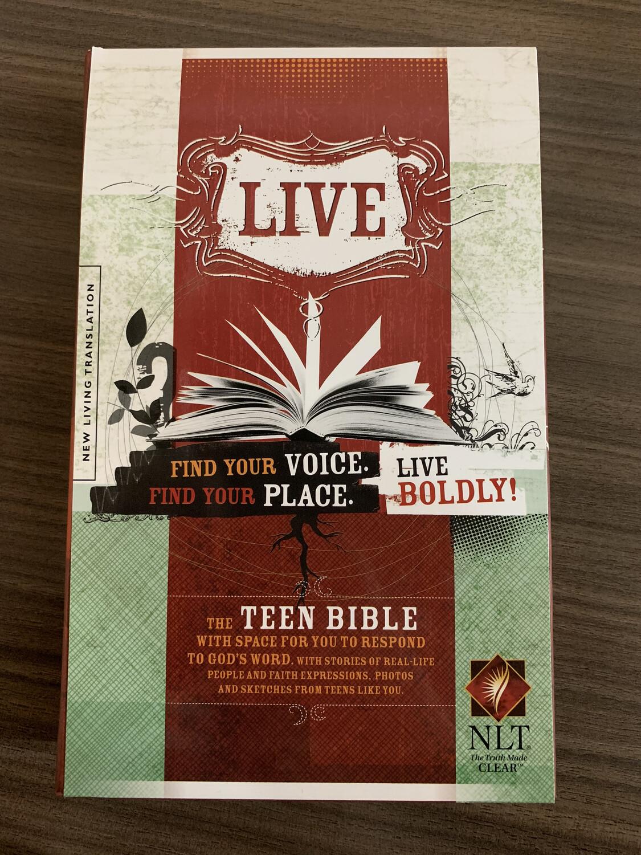 NLT, Live Teen Bible