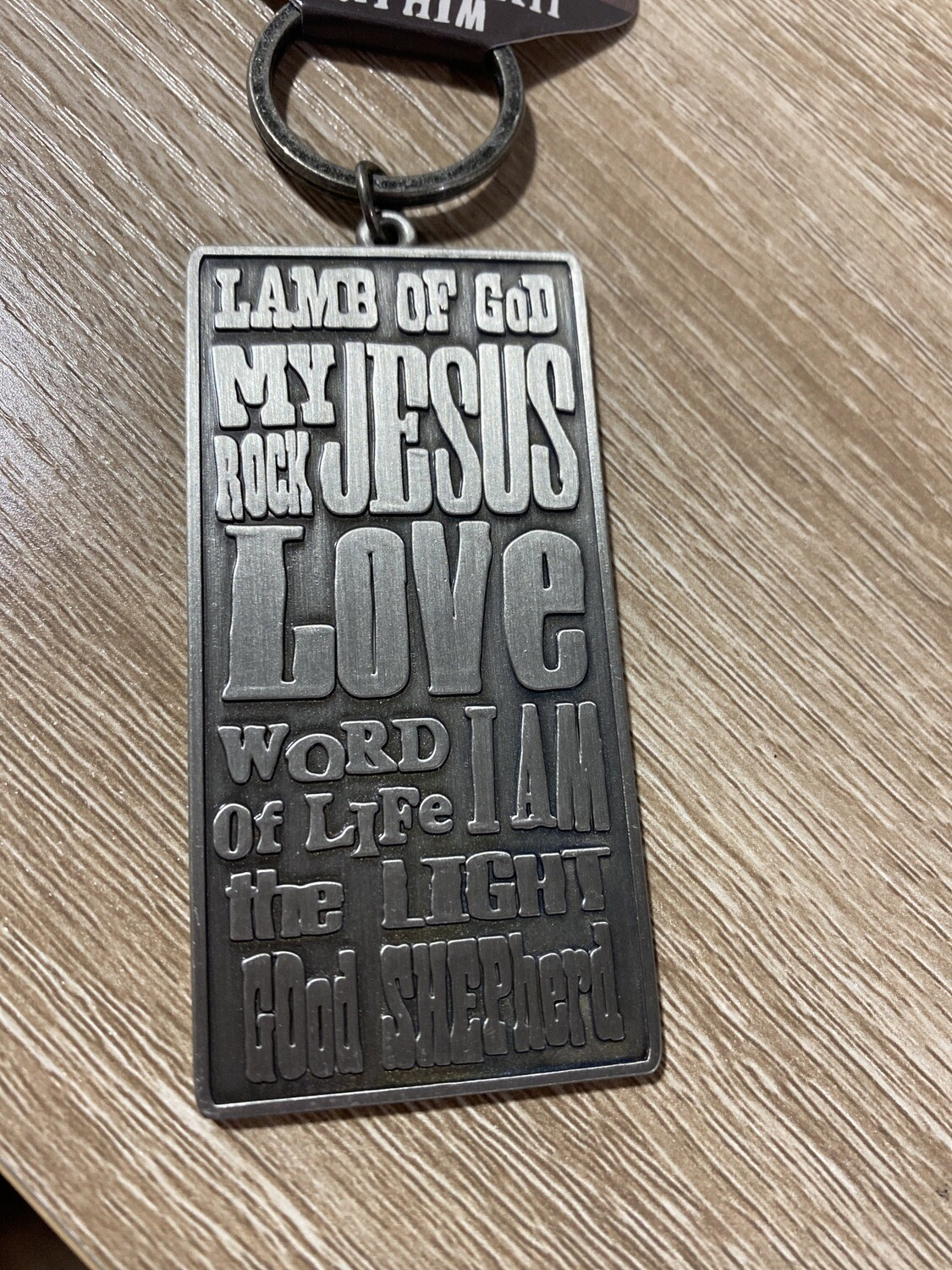 Names Of Jesus Keychain
