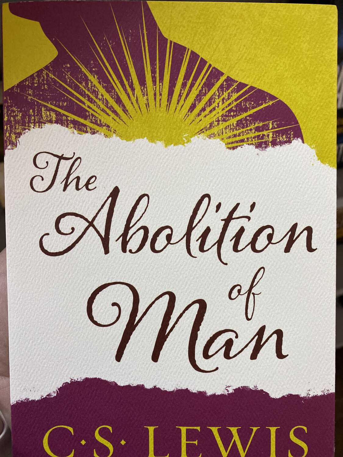 LEWIS, The Abolition Of Man