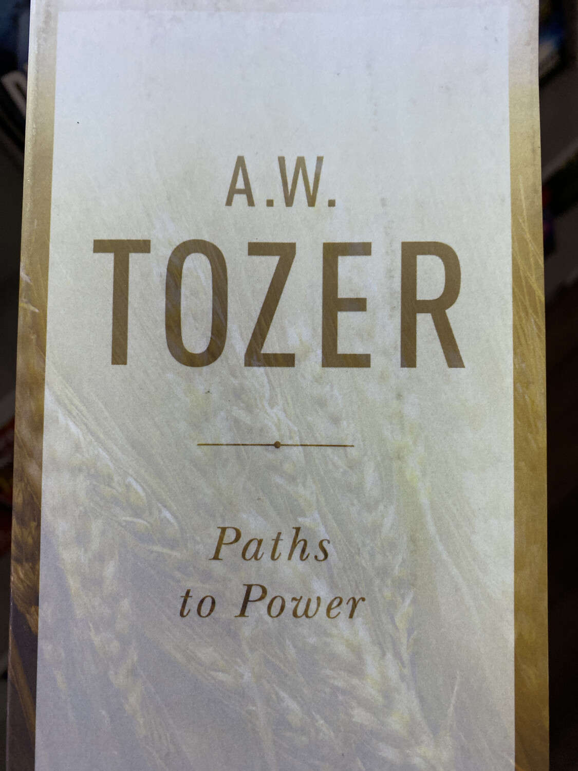 TOZER, Paths To Power
