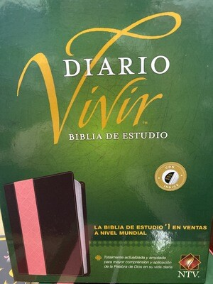 NTV Diario Vivir Biblia De Estudio, Cafe/Rosa, Indice