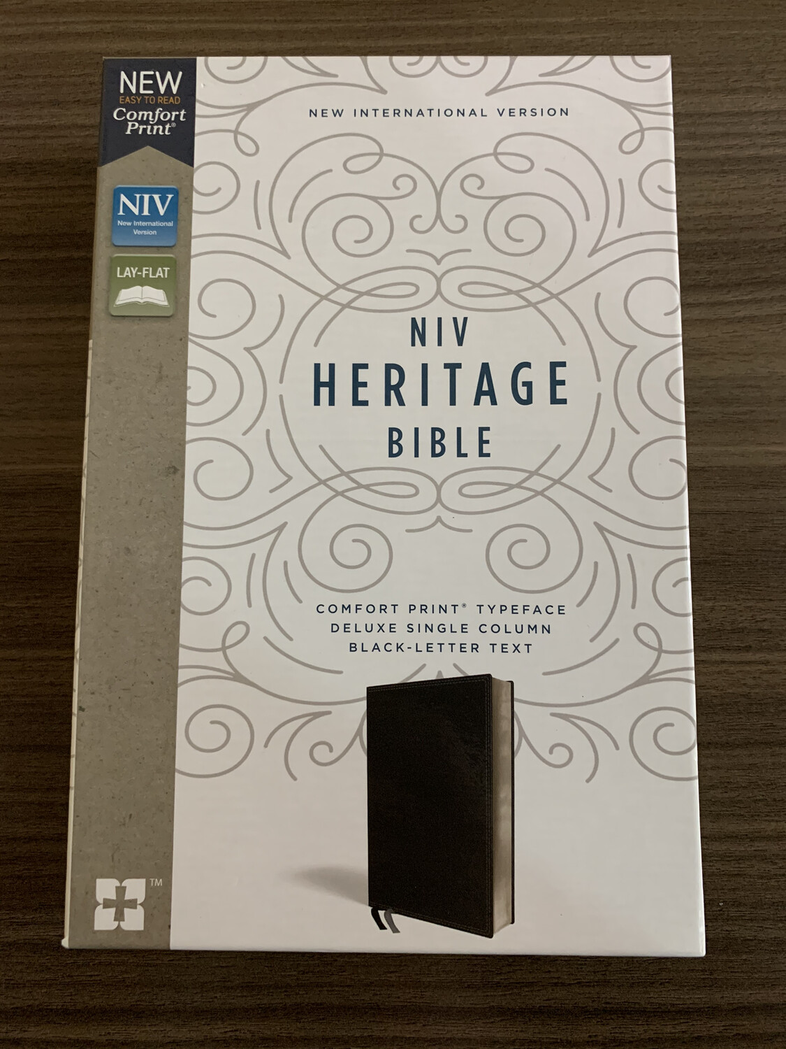 NIV Heritage Bible, Black