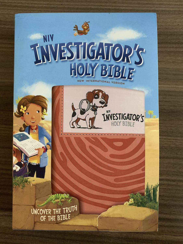 NIV Investigators Bible