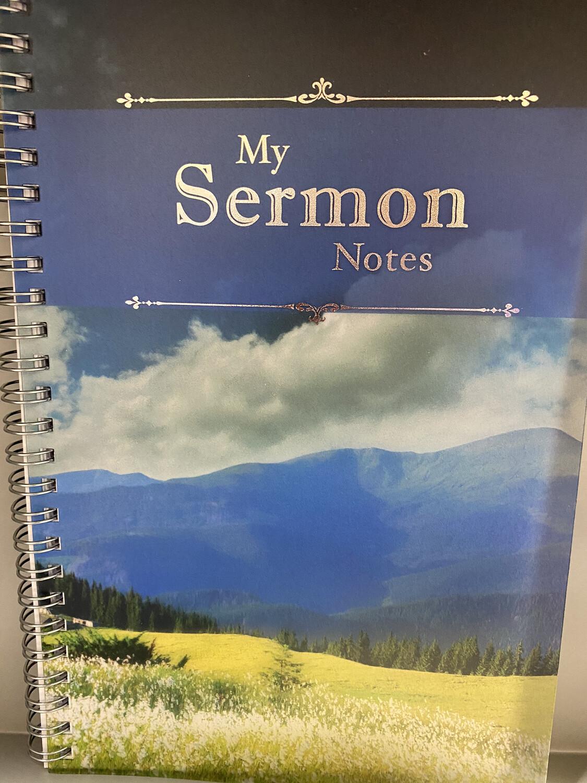 Sermon Notes Mountains