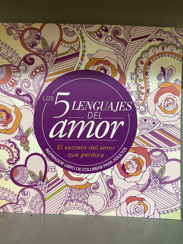 Los 5 Lenguajes del Amor Coloring