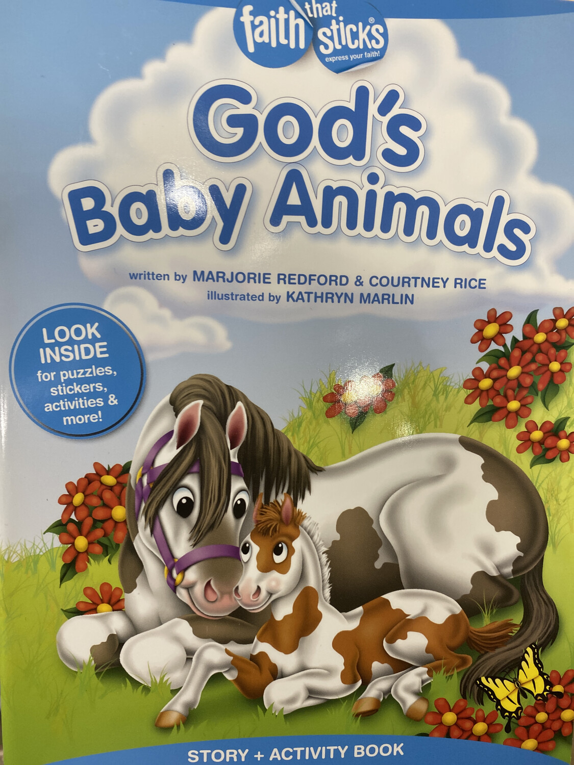 God's Baby Animals, Story And Activity Book