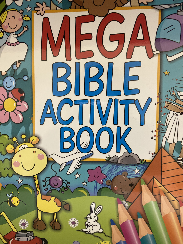 Mega Bible Activity Book