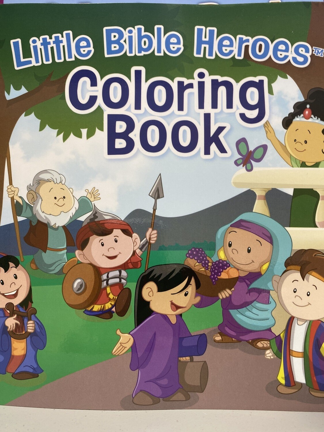 Little Heroes Coloring Book