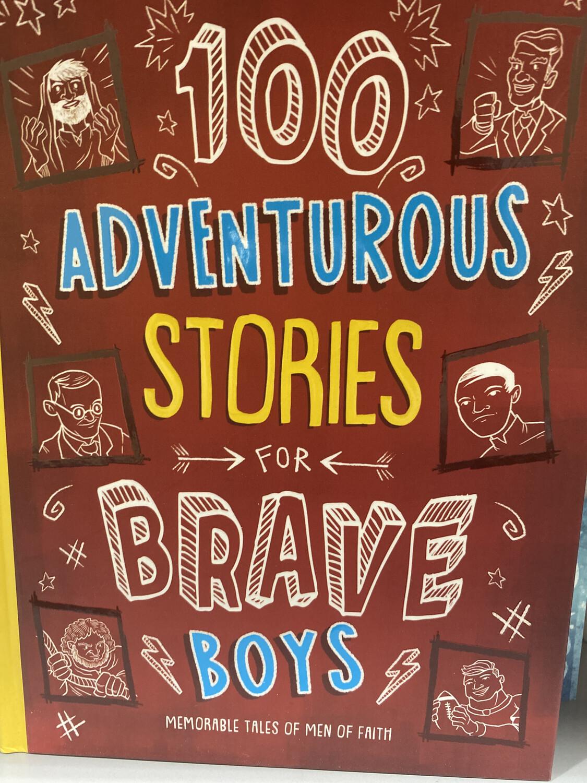 HASCALL, 100 Adventurous Stories For Brave Boys