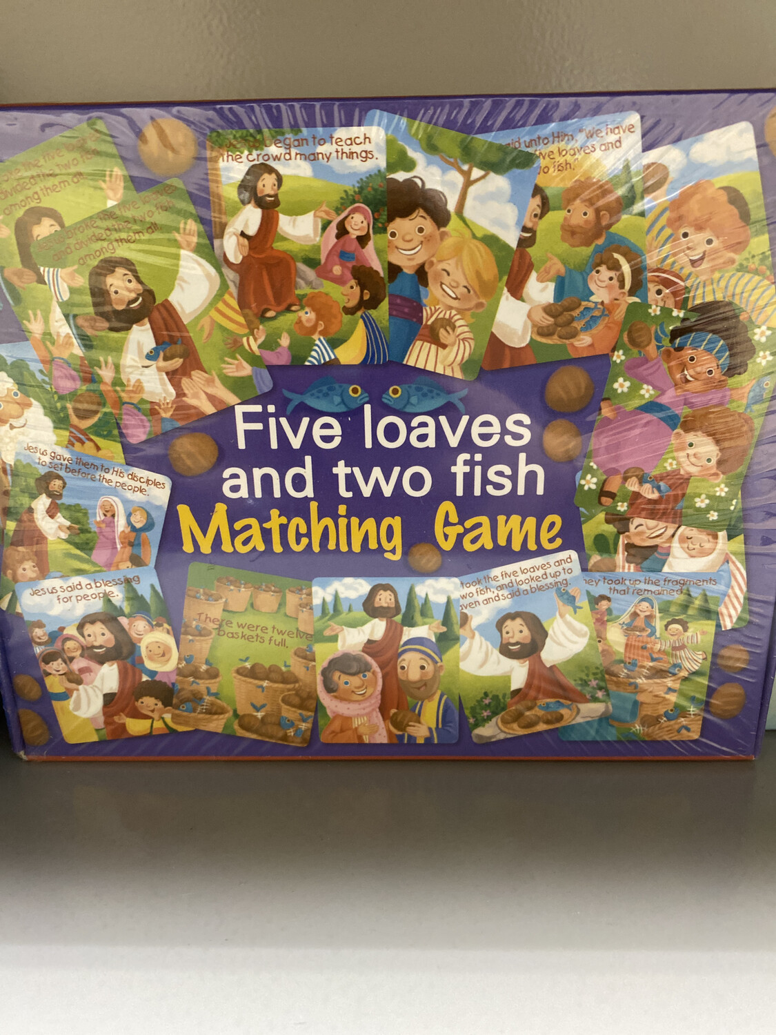 Five Loves And Two Fish Matching Game