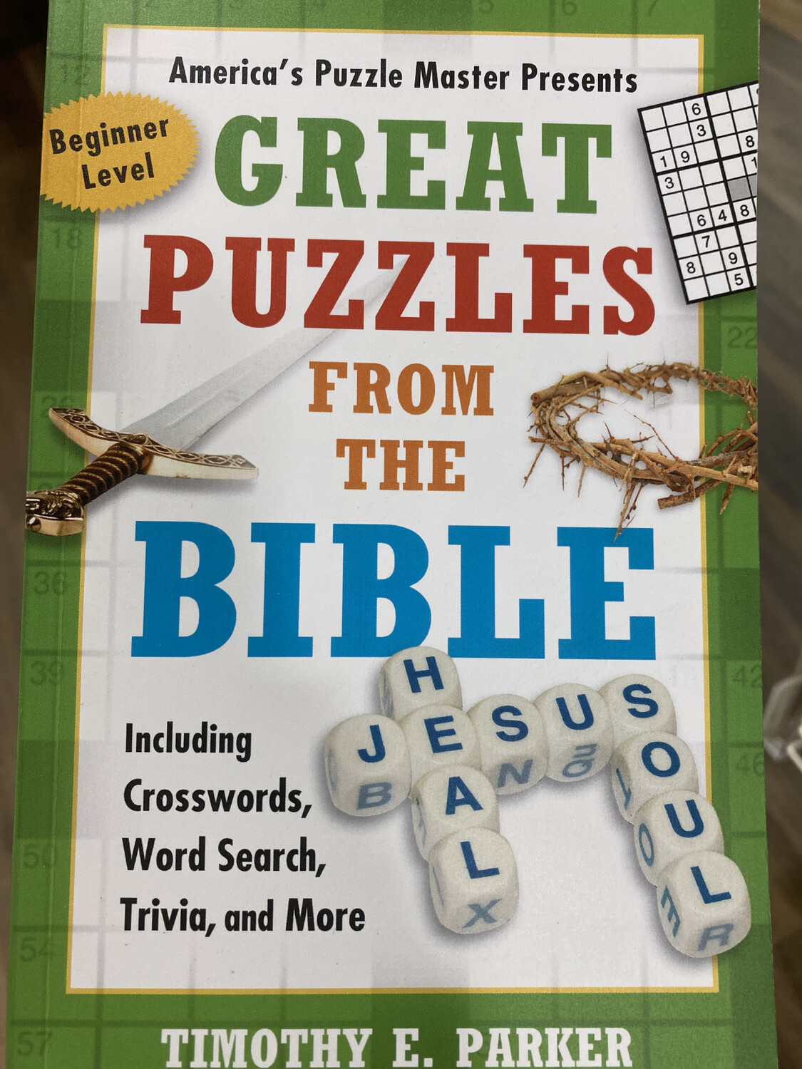 PARKER, Great Puzzles From The Bible