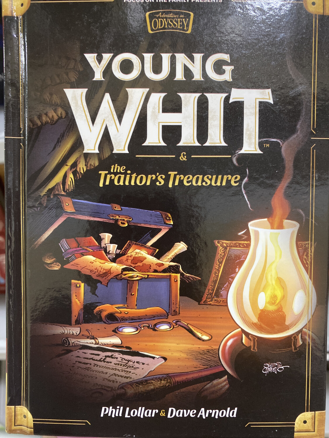 AOI, Young Whit And The Traitor's Treasure