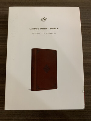 ESV LP Tan Bible