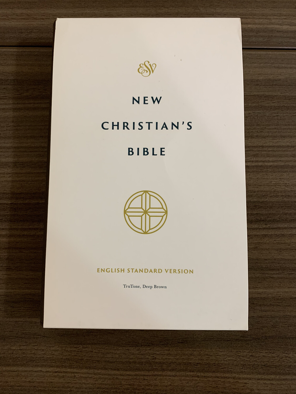 ESV, New Christian's Bible, Trutone, Deep Brown