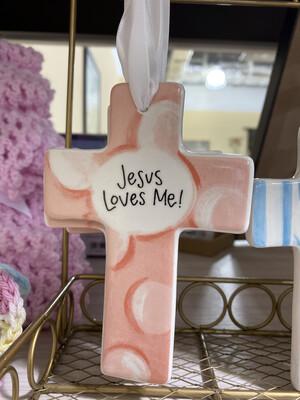 Pink Baby Cross