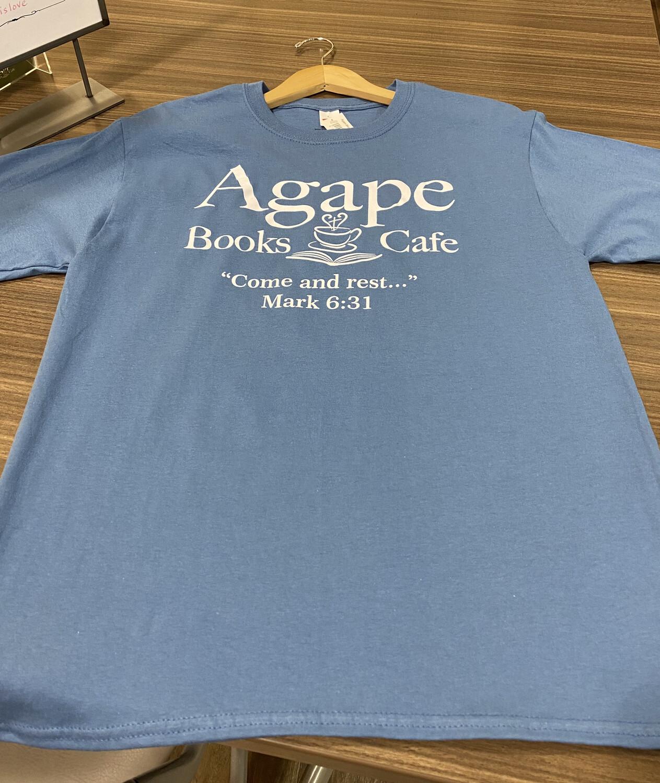 Agape Blue Short Sleeve - XXL