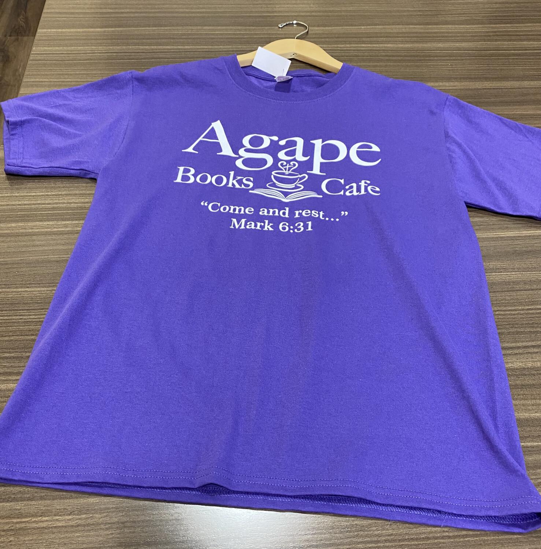 Agape Purple Short Sleeve- XXL