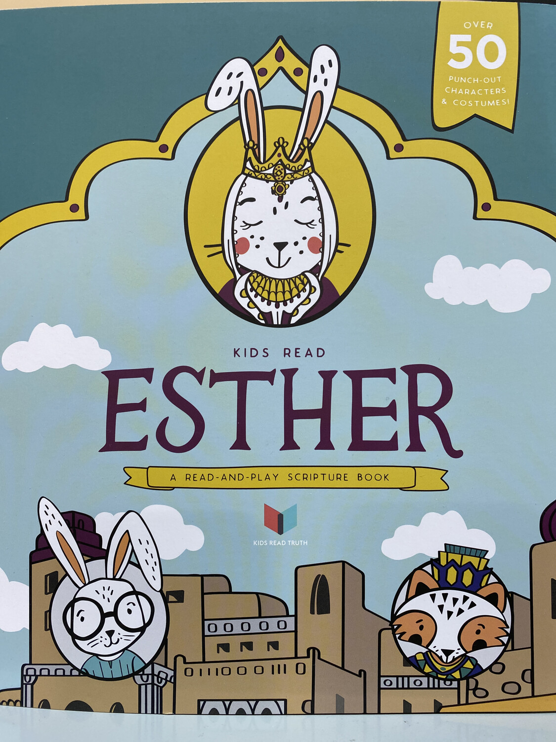 Esther Bible Study, Kids Read Truth