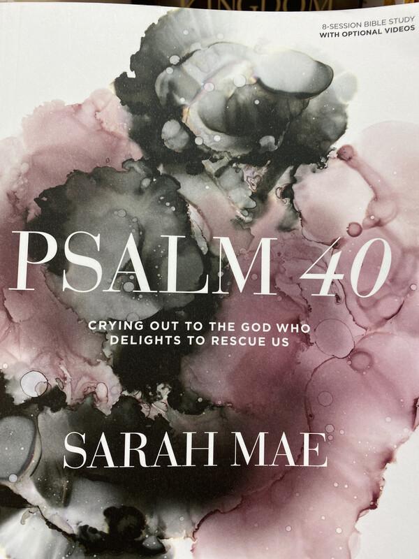 MAE, Psalm 40 Bible Study Book