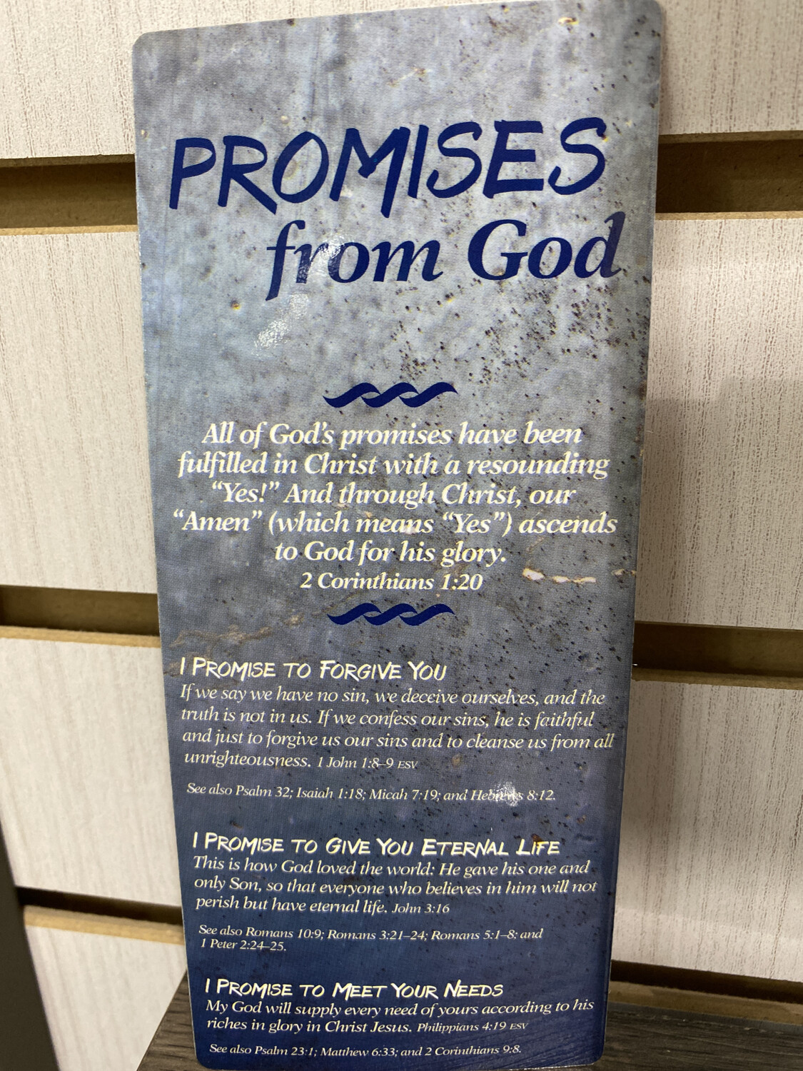 Bookmark, Promises From God