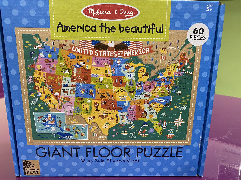 Np Giant Floor Puzzle