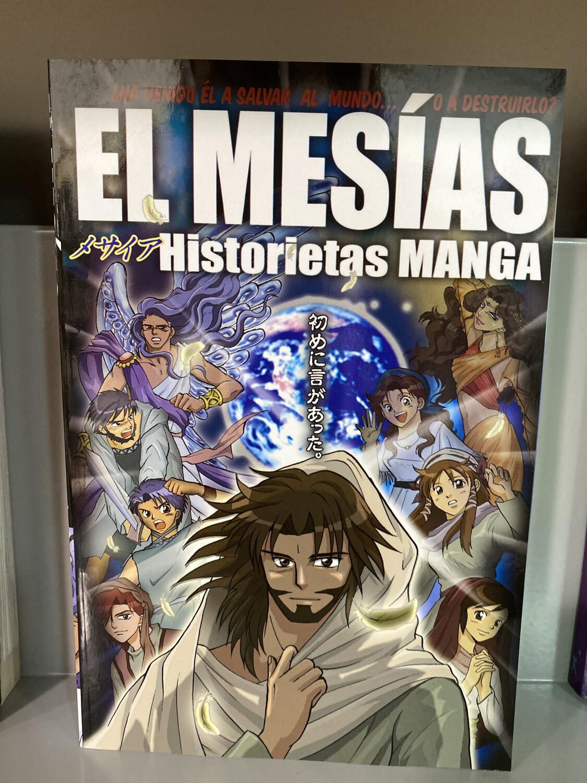 El Mesias, Historietas MANGA