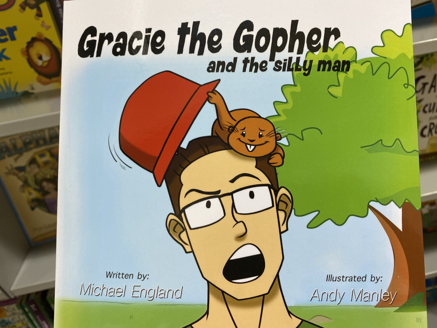 ENGLAND, Gracie The Gopher And The Silly Man (Endurance Press)