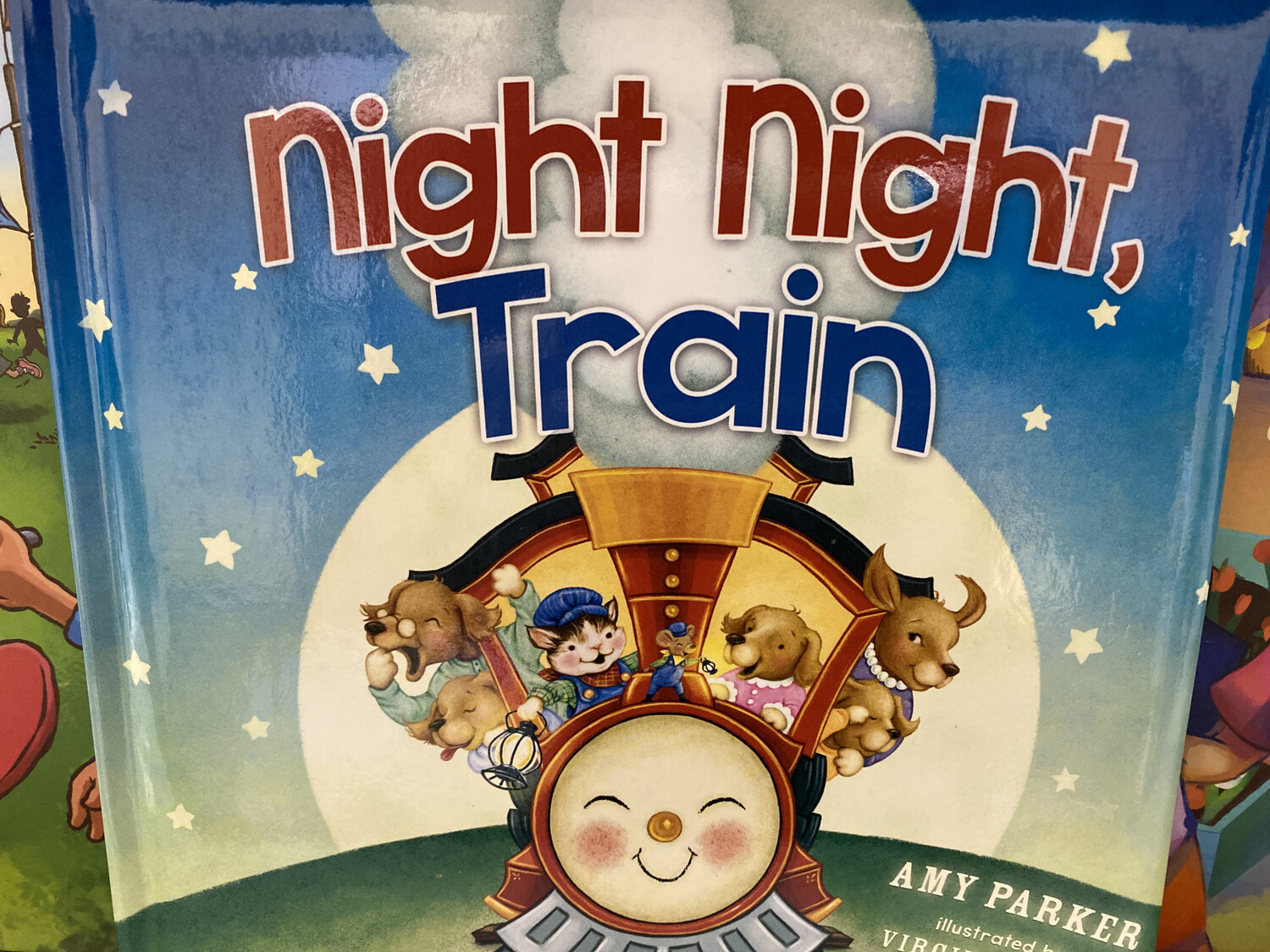 PARKER,  Night Night Train