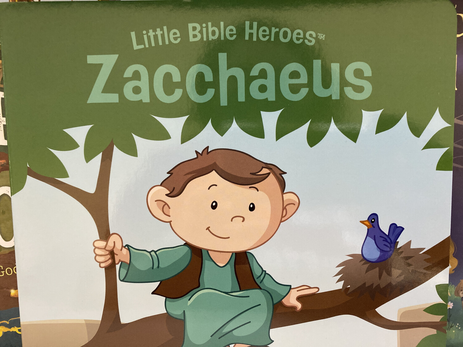 Little Bible Heroes, Zacchaeus, Boardbook