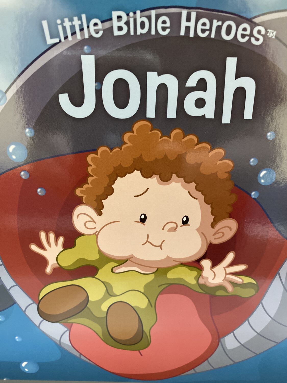 Little Bible Heroes, Jonah, Boardbook