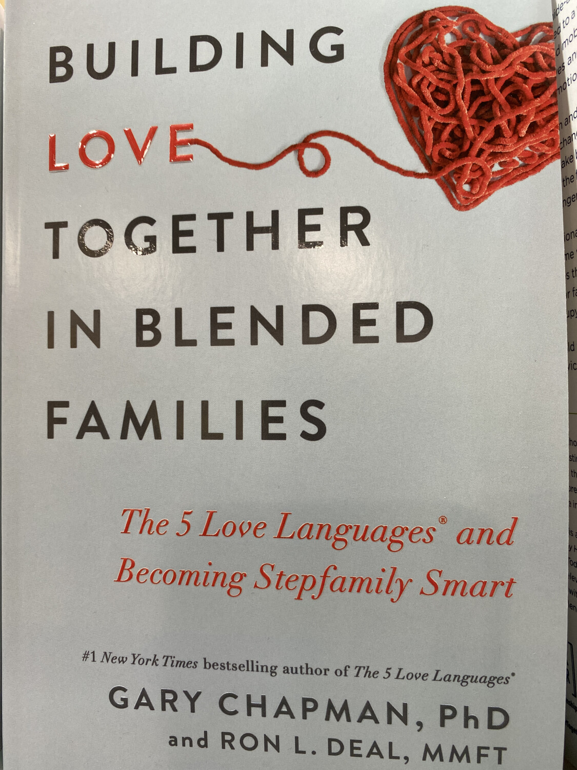 CHAPMAN, Building Love Together In Blended Families