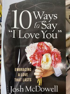 MCDOWELL, 10 Ways To Say I Kove You