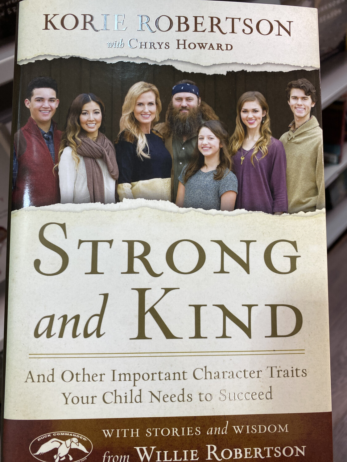 ROBERTSON, Strong And Kind