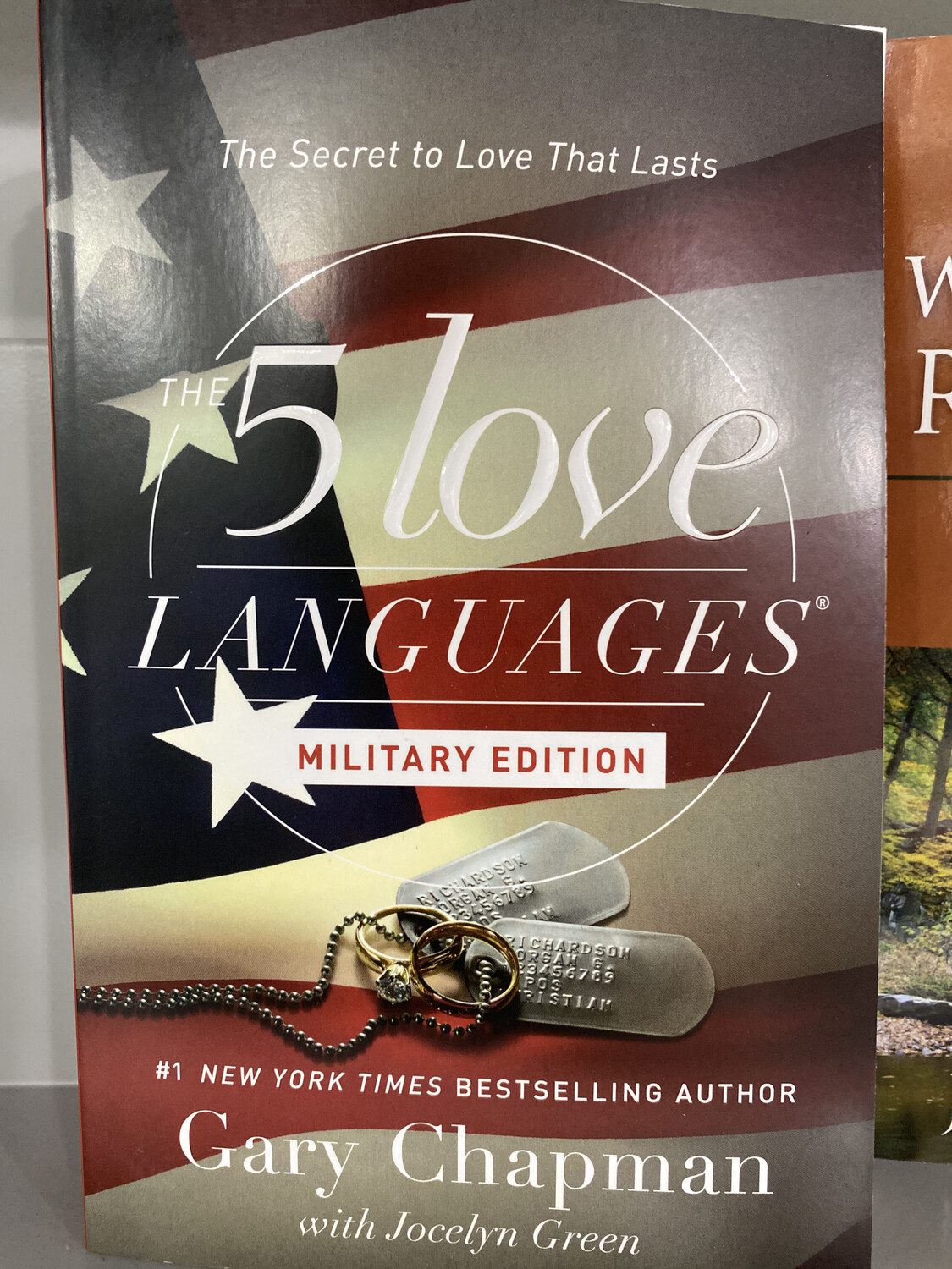 CHAPMAN, The 5 Love Languages-Military Edition