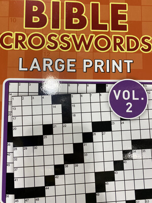 Bible Crosswords Large Print Vol2
