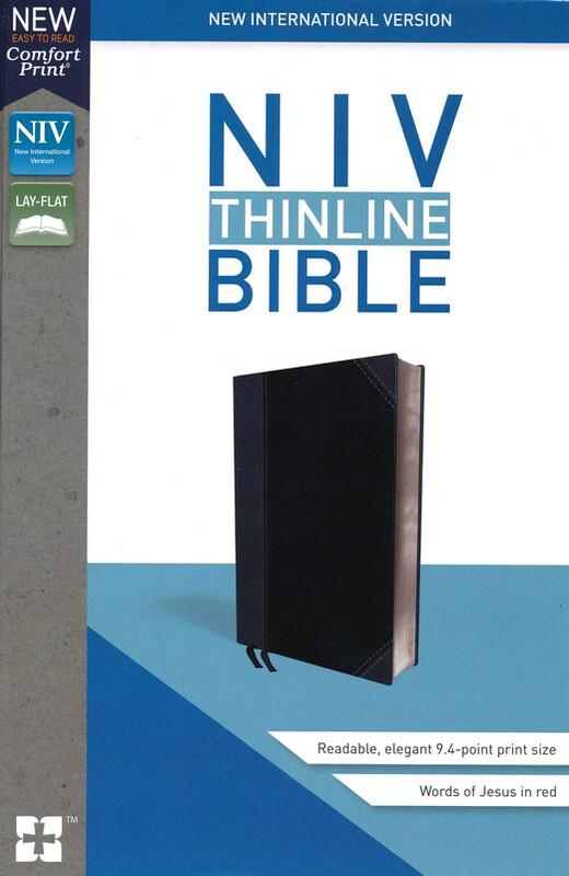 Niv Thinline Imitation Black