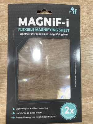 Magnif-i Flexible Magnifying Sheet