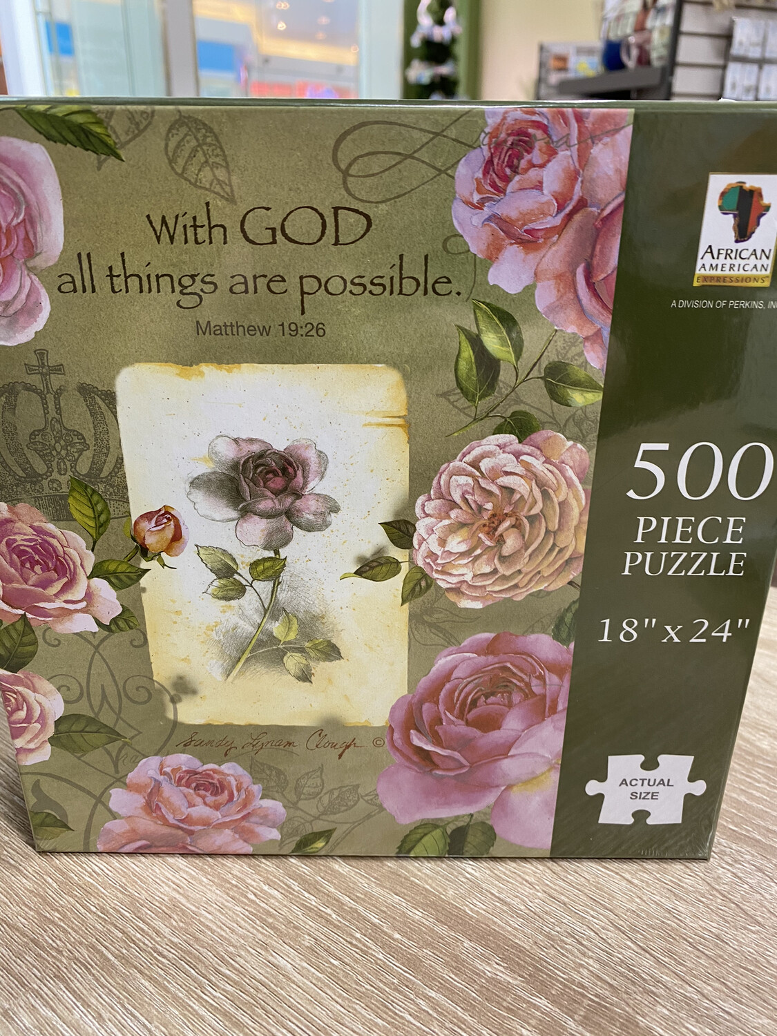 All Things Are Possible, 500 Piece Puzzle
